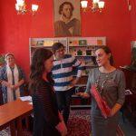 Студенты читают стихи Пушкина