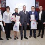 Журналисты получили специальные дипломы городского Совета депутатов