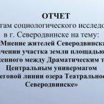 Квартал 100 в Северодвинске: результаты соцопроса