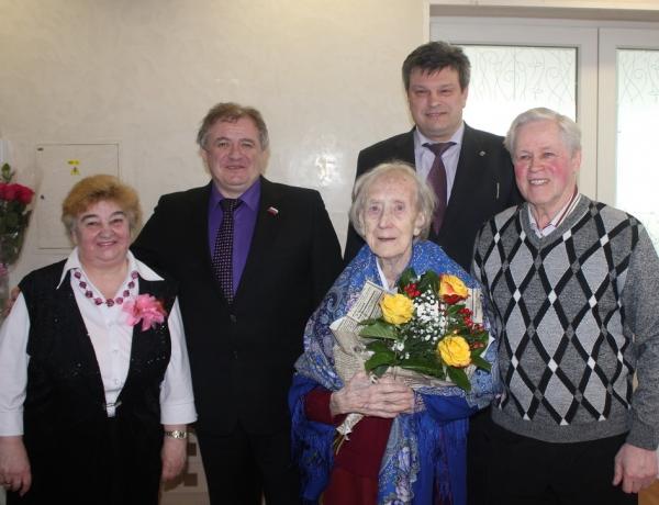 Ветерану третьего округа 95 лет