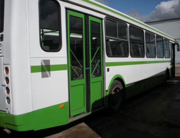 За чистоту в автобусах