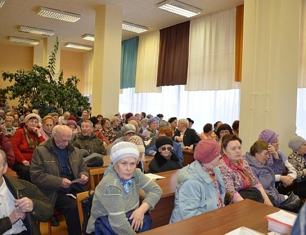 Встреча по вопросам капитального ремонта собрала сотни северодвинцев