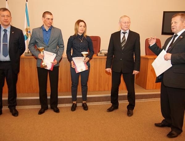В Северодвинске наградили лучших спортсменов зимнего сезона