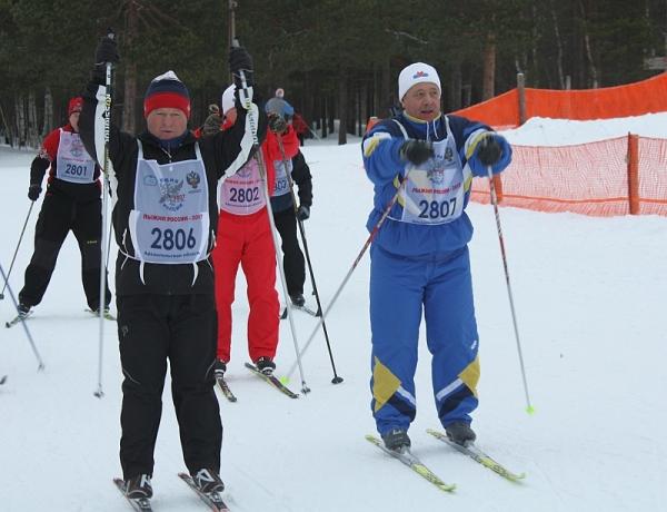 Северодвинцы встали на «Лыжню России»