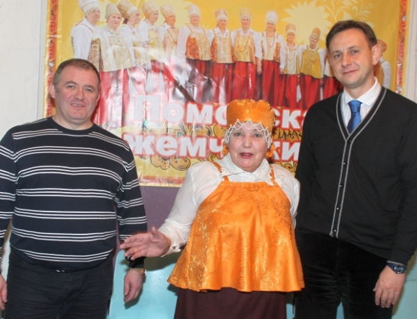 Руководитель хора «Поморская жемчужина» Светалана Сухорукова отмечает юбилей