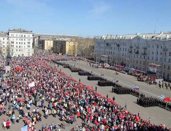 День Победы в Северодвинске. Фото и видео
