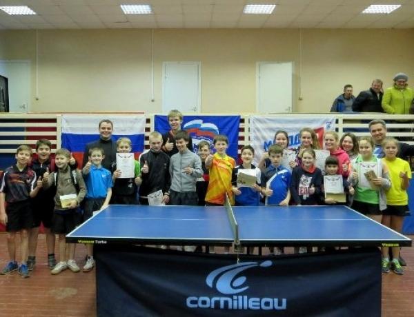 В школе № 20 состоялся областной турнир по настольному теннису