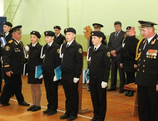 Шестиклассники стали кадетами
