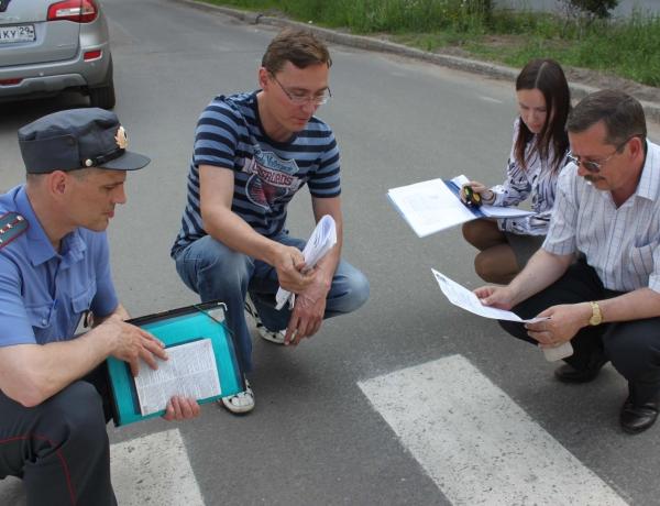 Какие критерии определяют размещение пешеходных переходов?