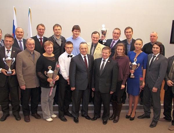 В Северодвинске назвали 10 лучших спортсменов 2014 года