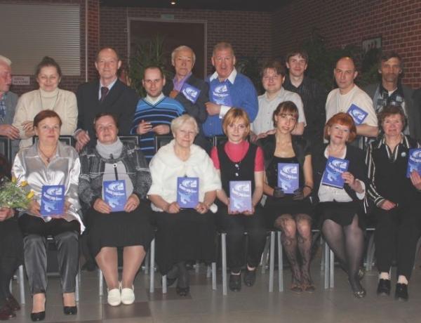 Депутаты поздравили старейшее в городе литературное объединение «Гандвик» с 60-летием