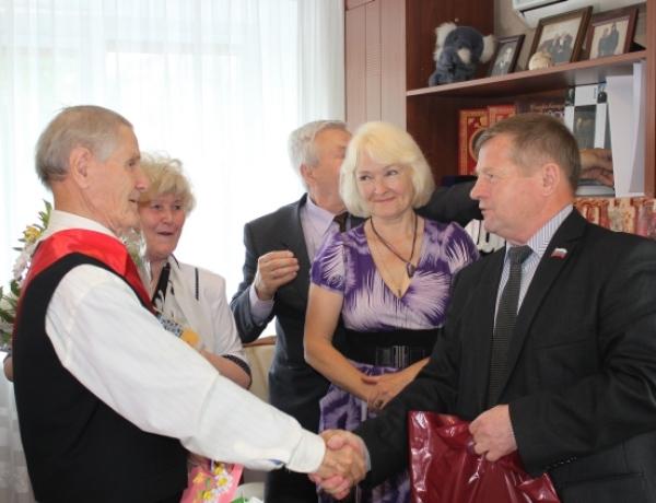 Корнилу Ивановичу Румянцеву исполнилось 90!